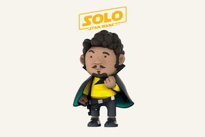 Lando Calrissian Solo A Star Wars Story 4k Art