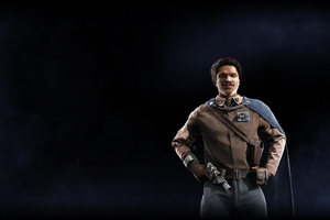 Lando Calrissian Star Wars Battlefront II 2017