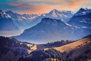 Landscape Alpine Mountains Landscape 5k