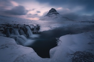 Landscape Snow Ice Outdoors Hd Wallpaper