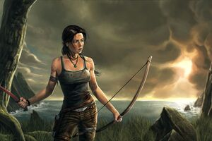 Lara Croft 8k Artwork