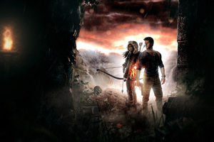 Lara Croft And Nathan Drake 5k