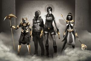 Lara Croft And The Temple Of Osiris 10k Wallpaper