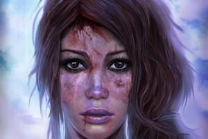 Lara Croft Artistic Artwork 4k