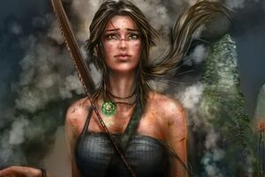 Lara Croft Artworks 5k