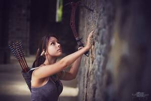 Lara Croft Cosplay 5k