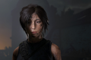 Lara Croft Losted Wallpaper