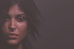 Lara Croft Portrait 4k