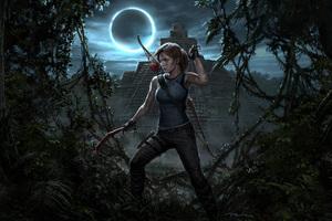 Lara Croft Shadow Of The Tomb Raider 4k