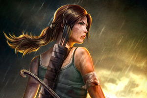 Lara Croft Tomb Raider 4k Artwork