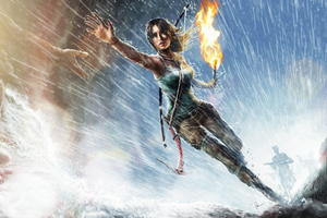 Lara Croft Tomb Raider Art 4k Wallpaper