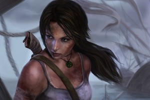 Lara Croft Tomb Raider Art Girl