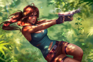 Lara Croft Tomb Raider Fanart
