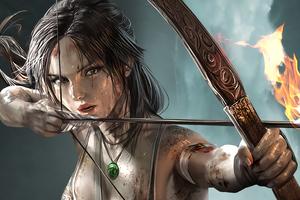 Lara Croft Tomb Raider Girl 4k Wallpaper