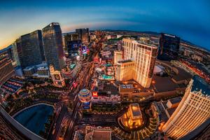 Las Vegas Buildings Lights