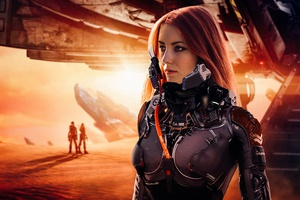 Laureline Cosplay In Valerian And The City Of A Thousand Planets 4k Wallpaper