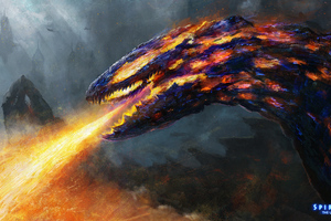 Lava Dragon 4k