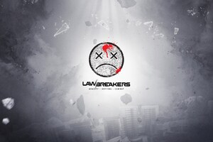 Lawbreakers 4k Logo Wallpaper