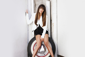 Lea Michele American Actress Wallpaper