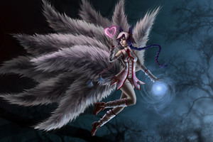 League Of Legends Ahri Art