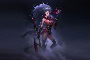 League Of Legends Blood Moon Diana Wallpaper