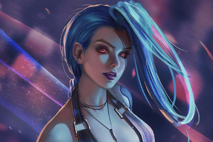 League Of Legends Jinx Art