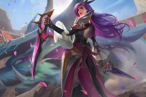 League Of Legends Katarina Du Couteau The Sinister Blade 4k Wallpaper