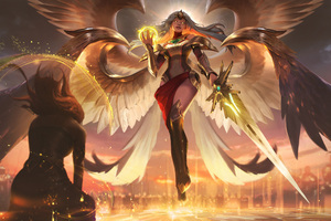 League Of Legends Kayle 5k Wallpaper