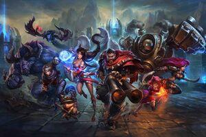League Of Legends Key Art 5k