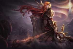 League Of Legends Leona 5k Wallpaper
