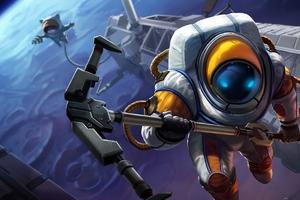 League Of Legends Nautilus Astronautilus 4k