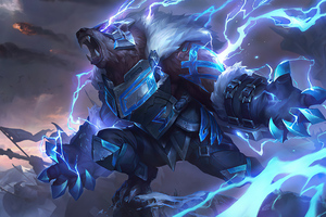 League Of Legends Runeguard Volibear Wallpaper