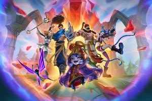 League Of Legends Winners 4k Wallpaper