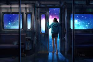 Leaving The Life Train 5k Wallpaper