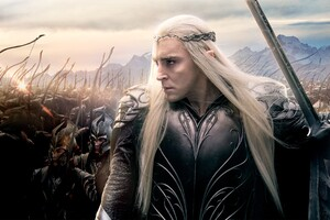 Lee Pace In Hobbit Wallpaper
