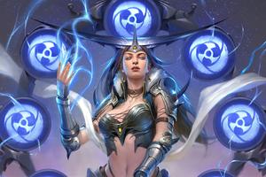 Legend Of The Cryptids Dark Fantasy Raijin 4k