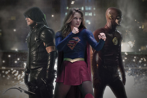 Legends Of Tomorrow Flash Arrow Supergirl