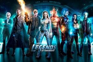 Legends Of Tomorrow Season 3 Wallpaper