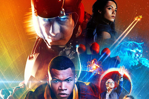 Legends Of Tomorrow Tv Show Poster Wallpaper