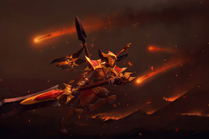 Legion Commander Dota 2 4k Wallpaper