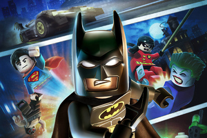 LEGO Batman DC Super Heroes Wallpaper
