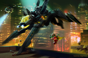 Lego Batman The Scuttler Wallpaper