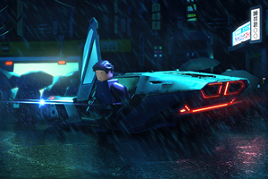 Lego Blade Runner 4k
