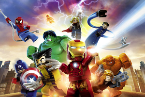 LEGO Marvel Super Heroes 4k