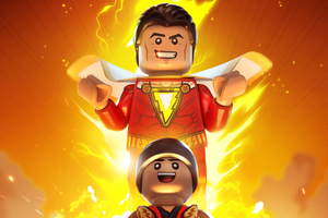 Lego Shazam Wallpaper