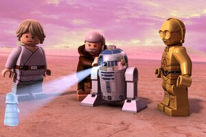 Lego Star Wars Droid Tales Wallpaper