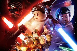 Lego Star Wars The Force Awakens Wallpaper