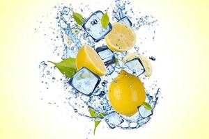 Lemon Ice Splash