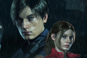 Leon And Claire In Resident Evil 2