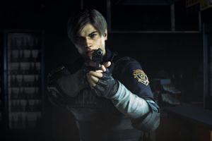 Leon Kennedy In Resident Evil 2 2019 4k